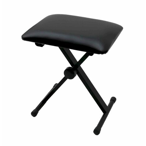 Oypla Keyboard Piano Bench Stool Seat Chair Throne Adjustable Portable