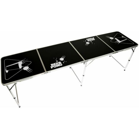 """main image of """"Oypla Official Size 8 Foot Folding Beer Pong Table BBQ Drinking Party"""""""