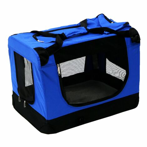 Oypla Portable Pet Dog Cat Rabbit Puppy Carrier Transport Crate Cage