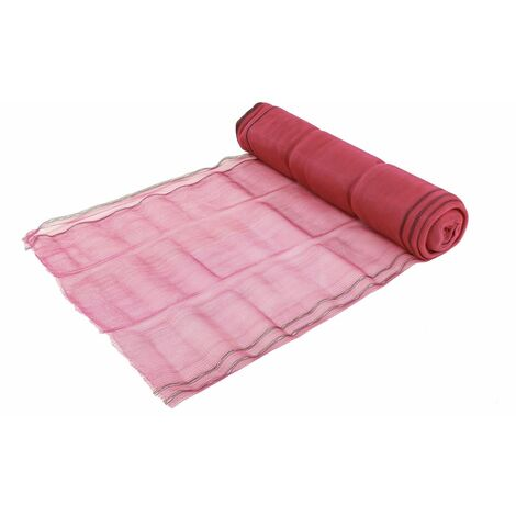 Oypla Red Shade Debris Scaffold Netting 2mtr x 50mtr