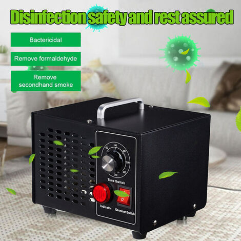 Ozone Generator Air Purifier Timer Portable Disinfection Dust Collector Machine 3500mg / h Home Office Air Filter (220V)