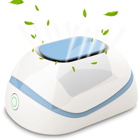 Ozone Machine Household Air Purifier USB Rechargeable Refrigerator Eliminator Deodorization Sterilizer