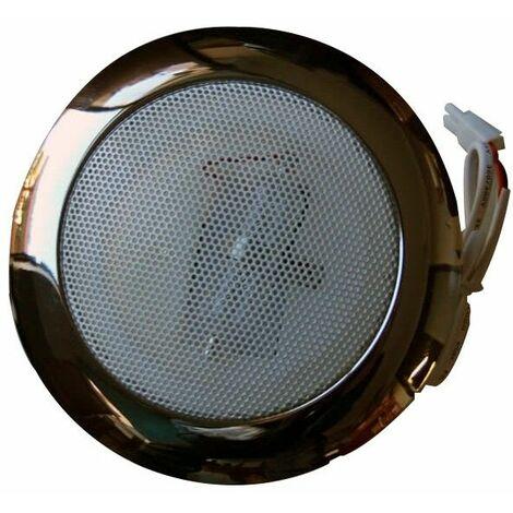 Ozoniseur 12v  avec cache chromé pour hammam