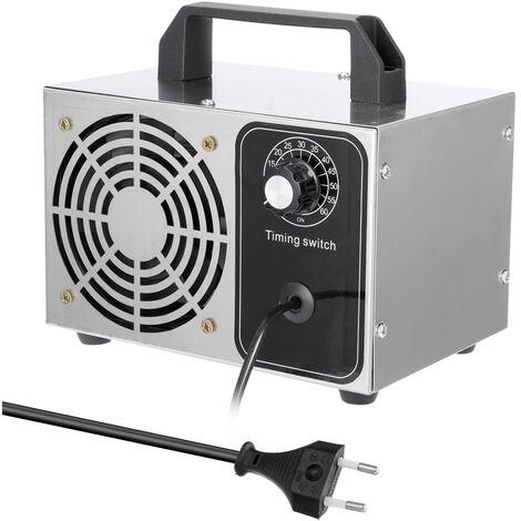 Ozonizador portatil de la maquina del ozono 28g / h, fan del purificador del filtro de aire