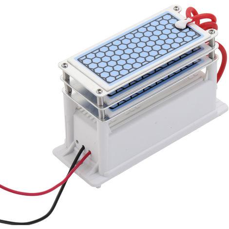 Ozono de ceramica Generador de 15 g / h Tres ozono, ozonizador purificador de agua y aire
