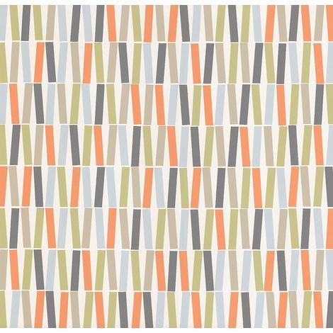 P+S Retro Stripes/ Lines Wallpaper