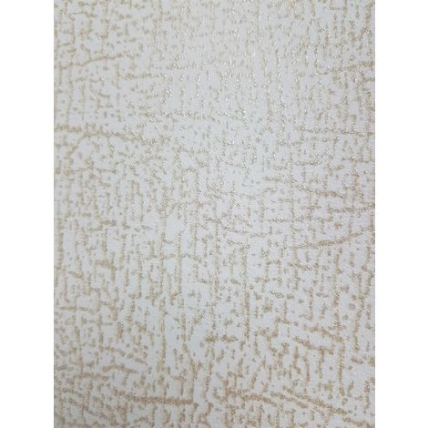P+S Shimmer Speckle Glitter Wallpaper Off White Gold Textured Paste Wall Vinyl