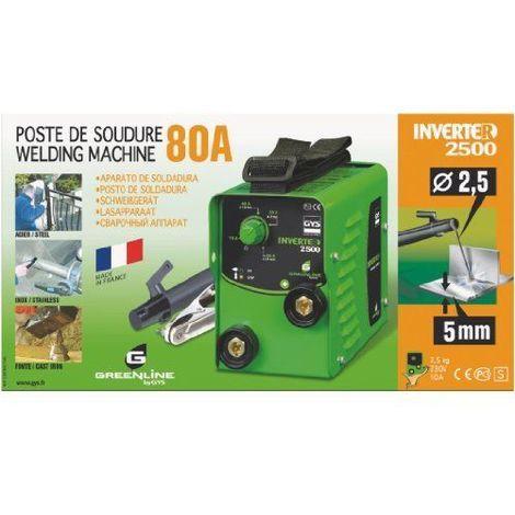 P. SOUDURE INVERTER 2500 GYS 013025