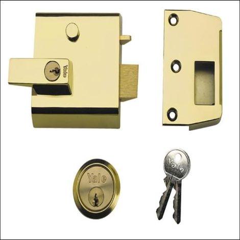 P1 Double Security Nightlatch
