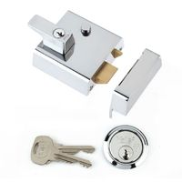 P1 Double Security Nightlatch