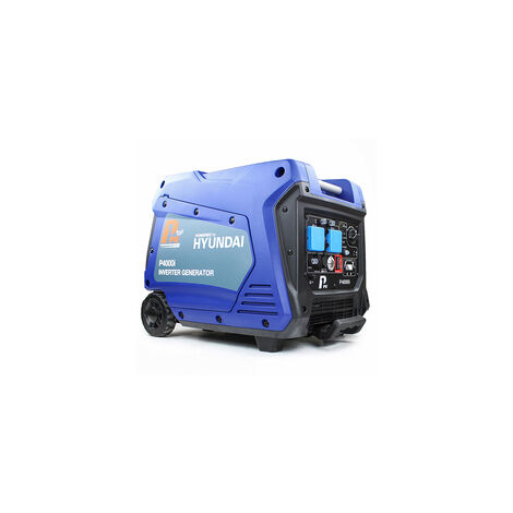 P1 P4000i 4000W Portable Petrol Inverter Generator (Powered by Hyundai)