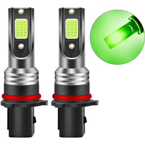 P13W LED Bombillas Faro, 30W 3000 lumenes super brillante LED Faros Kit de conversion de IP68 a prueba de agua, paquete de 2, P13W
