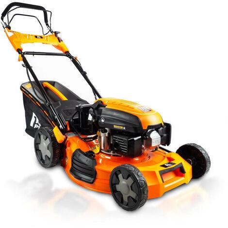 "P1PE Hyundai Engine Electric Start Petrol Lawnmower 20"" 51cm 510mm Lawn Mower 173cc Plus Free 600ml Oil - 2 YEAR WARRANTY P5100SPE"