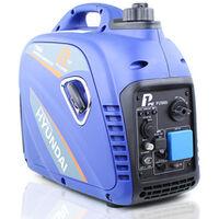 P1PE P2500i 2200W Portable Petrol Inverter Generator (Powered by Hyundai)