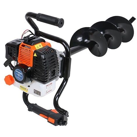 P1PE P5200EA 52cc Petrol Earth Auger / Borer / Drill (Powered by Hyundai)