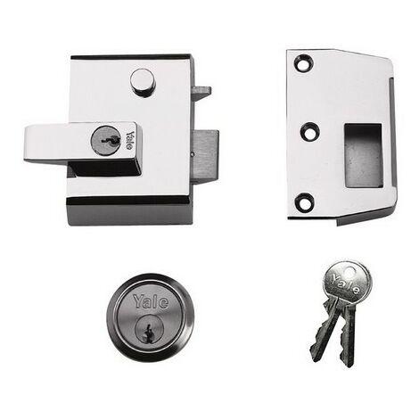 P2 Double Security Nightlatch