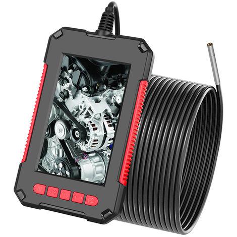 P40 Industrial endoscopio endoscopio Inspeccion de la camara, la lente 3.9mm, con 4,3 pulgadas 1080P Pantalla, Rojo, 2M cable rigido