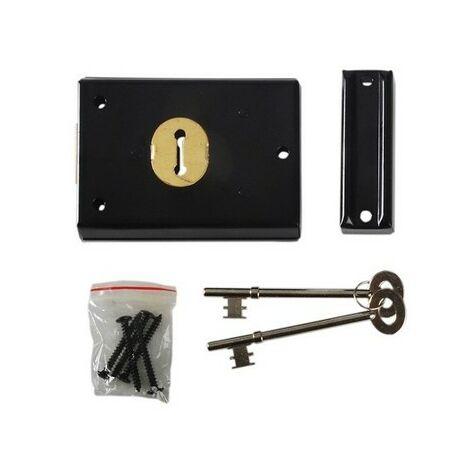 P402 Rim Lock 102 x 76mm