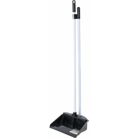 P8008/BW Long Handled Pla S Tic Dustpan & Brush Set