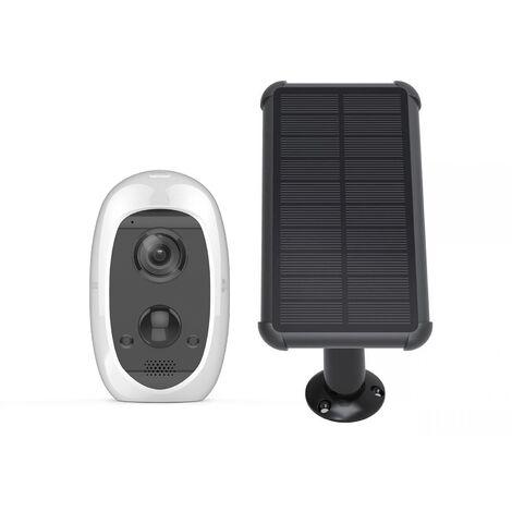 Pack 1 caméra autonome C3A + panneau d'alimentation solaire - Ezviz par Hikvision - {couleurs}