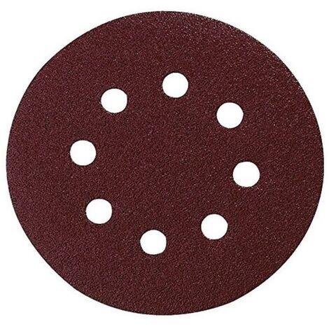 Pack 10 lijas perforadas con velcro 125 mm para bo5020-21-30-31-41 grano 60 - MAKITA - Ref: P-43549