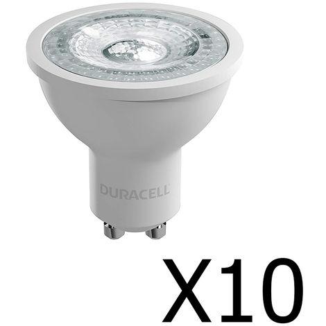 Pack 10 spots Duracell LED 35W GU10