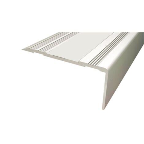 Pack 10 unds. Cantonera Aluminio 50mm - Sin antideslizante - Adhesivo