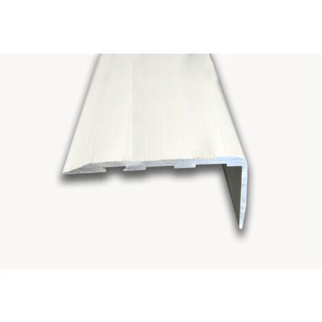 Pack 10 unds. Cantonera Aluminio 60mm - Sin antideslizante - Adhesivo