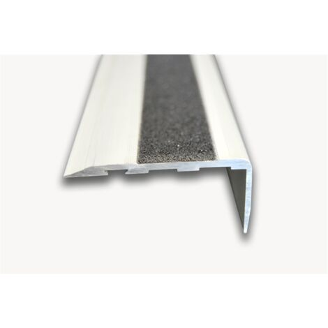 Pack 10 unidades. Cantonera Aluminio 60mm - Antideslizante - Taladrado