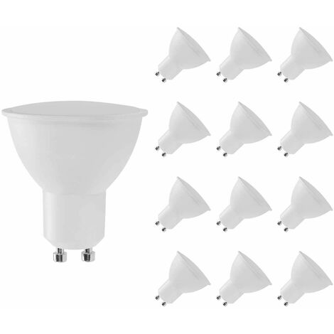 Pack 12 Bombillas LED GU10 Spotlight 8W Equi.60W 700lm Raydan Home