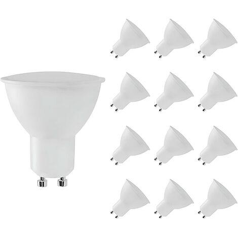 Pack 12 Bombillas LED GU10 Spotlight 8W Equi.60W 700lm Raydan Home