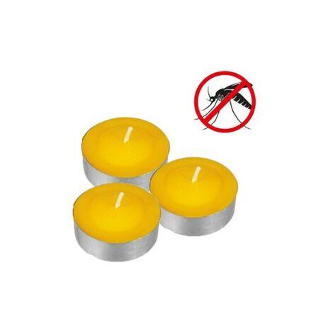 Pack 15 velas te con citronella