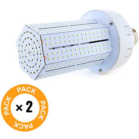 Pack 2 Bombilla LED Alumbrado Público Brigelux 360º E40 80W 8800Lm 30.000H   Blanco Frío (MYM-80-03-CW-PK2-AP)