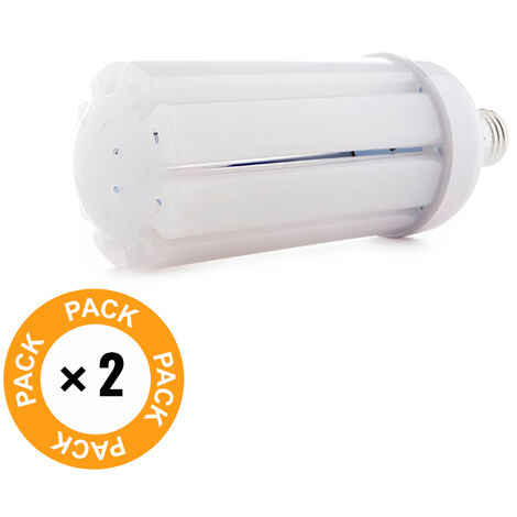 Pack 2 Bombilla LED E27 Epistar 30W 2600Lm 50.000H