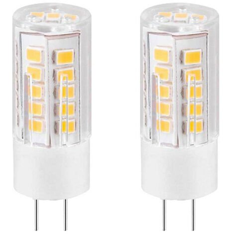 Pack 2 Bombillas LED Bipin G4 3W Equi.25W 249lm 3000K 25000H 7hSevenOn