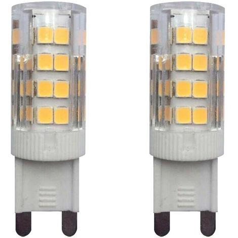 Pack 2 Bombillas LED Bipin G9 3W Equi.28W 300lm 3000K 25000H 7hSevenOn