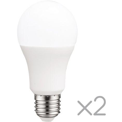 Pack 2 Bombillas LED E27 estándar 15 W (Luz fría)