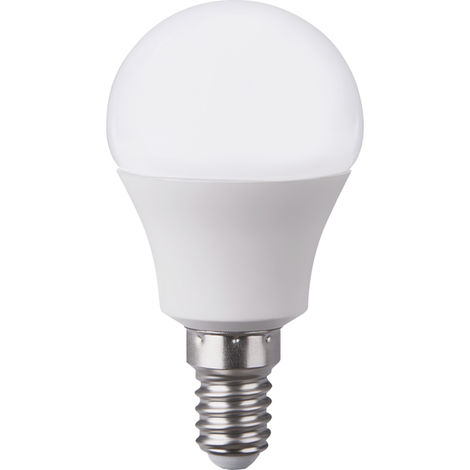 Pack 2 Bombillas LED Esférica E14 6W Equi.40W 470lm 15000H 7hSevenOn