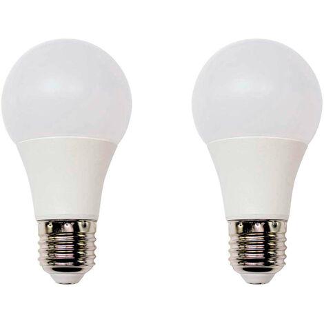 Pack 2 Bombillas LED Estándar E27 11W Equi.75W 1055lm 15000H 7hSevenOn