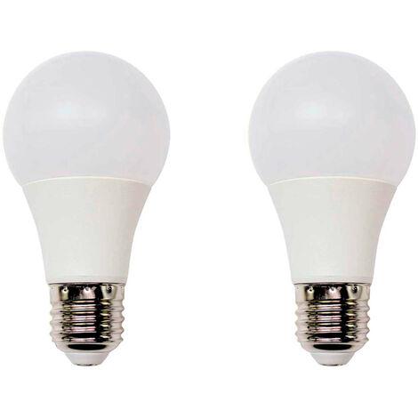 Pack 2 Bombillas LED Estándar E27 16W Equi.100W 1521lm 25000H Eilen
