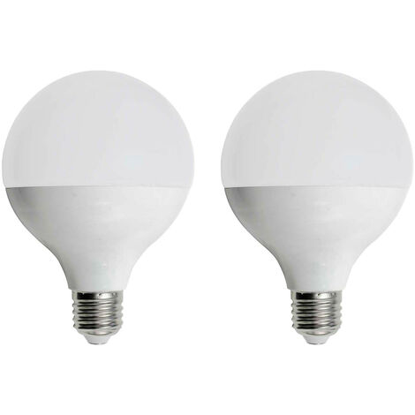 Pack 2 Bombillas LED Globo E27 16W Equi.100W 1521lm 15000H 7hSevenOn
