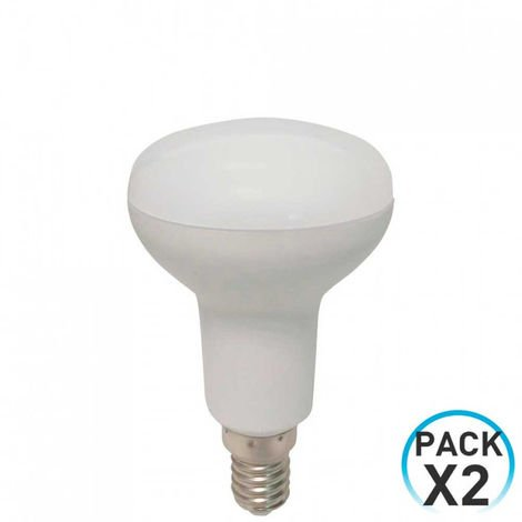 Pack 2 Bombillas LED Reflectora E14 5W Equi.40W 470lm 4000K 25000H Eilen