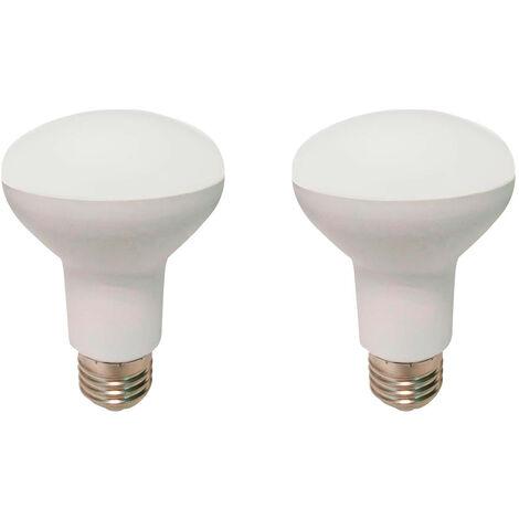 Pack 2 Bombillas LED Reflectora E27 9W Equi.60W 806lm 25000H