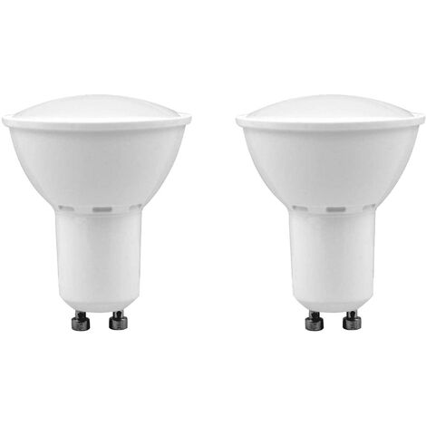 Pack 2 Bombillas LED Spotlight GU10 3,5W Equi.25W 240lm 3000K 15000H 1Primer Low Cost
