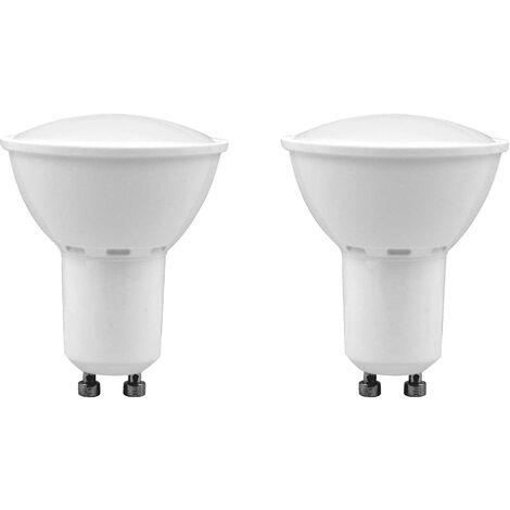 Pack 2 Bombillas LED Spotlight GU10 8W Equi.60W 700lm 6000K 25000H 7hDayron