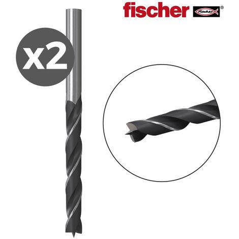 PACK 2 BROCAS MADERA HB 4 / 2K FISCHER - NEOFERR*