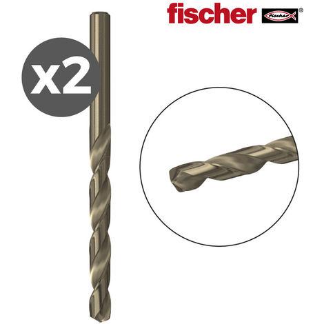 PACK 2 BROCAS METAL HSS-CO 4,0X43/75 / 2K FISCHER - NEOFERR..