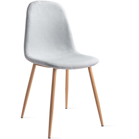 Pack 2 chaises ELVA design nordic salle manger 46x43x86cm