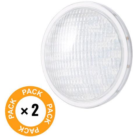 Pack 2 Foco de Piscina LED Par 56 Blanco Natural 25W | Blanco Natural (KD-PAR56-25W-W-PK2-AP)