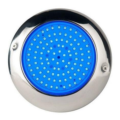 Pack 2 Focos LED RGB con cable de 4 hilos 15W Ø15cm en acero inoxidable para Piscina con Transformador y Control Remoto